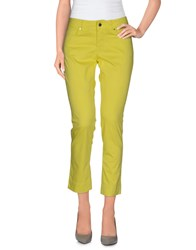 Marina Yachting Trousers Casual Trousers Women Yellow