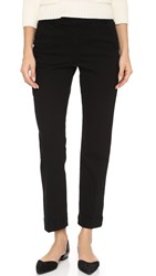 Frame Le Cropped Trousers Noir