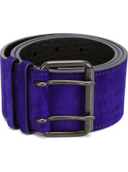 Haider Ackermann 'Sigula' Belt Pink And Purple