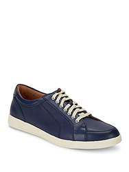 Cole Haan Quincy Sport Leather Oxfords Marine Blue