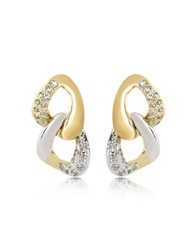 A Z Collection Drop Earrings Gold