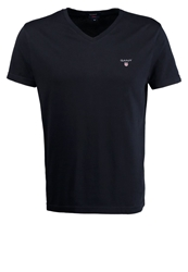 Gant Fitted Basic Tshirt Evening Blue Dark Blue