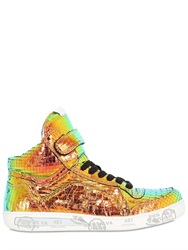 Premiata Revolution Iridescent High Top Sneakers