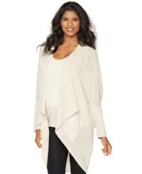 Sweet Romeo Maternity Draped Cardigan