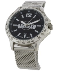 Game Time San Francisco Giants Cage Series Watch Silver Black