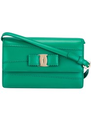 Salvatore Ferragamo 'Vara' Crossbody Bag Green