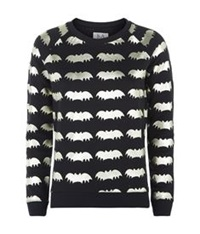 Zoe Karssen Metallic Bat Sweater Multi