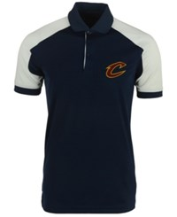 Antigua Men's Cleveland Cavaliers Century Polo Shirt Navy White