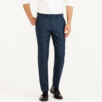 J.Crew Bowery Slim Pant In Brushed Hopsack Wool
