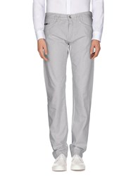 Boss Black Trousers Casual Trousers Men Light Grey