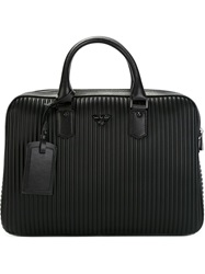 Ribbed Texture Laptop Case Black