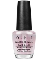 Opi Natural Nail Base Coat No Color