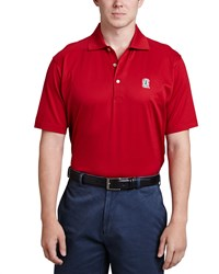 Peter Millar Stanford Gameday Polo Crimson