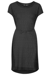 Sandwich Summer Dress Charcoal Dark Gray