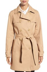 Kate Spade Women's New York Trench Coat Camel