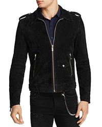 The Kooples Suede Jacket 100 Bloomingdale's Exclusive Black