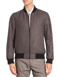 Strellson Textured Ribbed Jacket Grey