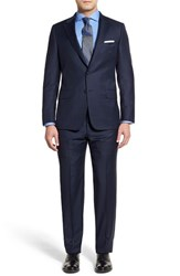 Men's Hickey Freeman Classic Fit Check Wool Suit