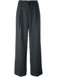 I'm Isola Marras Pleated Palazzo Pants Grey