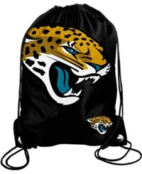 Forever Collectibles Jacksonville Jaguars Big Logo Drawstring Bag