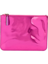 Christopher Kane Zipped Pouch Clutch