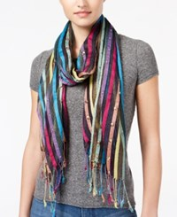 Collection Xiix Embellished Stripes Wrap Black Bright