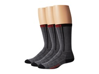 Wigwam Rebel Fusion Crew Ii 3 Pack Charcoal Crew Cut Socks Shoes Gray