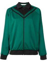 Golden Goose Deluxe Brand 'Janet' Zipped Sweatshirt Green