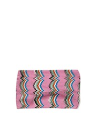 Missoni Zigzag Knit Headband Pink