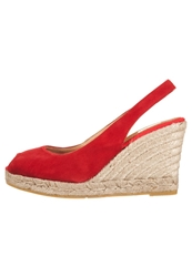 Kanna Wedges Rojo Red