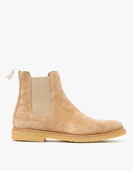 Common Projects Chelsea Boot In Khaki Suede