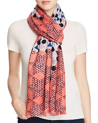 Yarnz Chinese Checkers Scarf Red