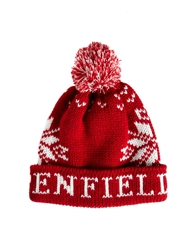 Penfield Dumont Bobble Hat Burgundy