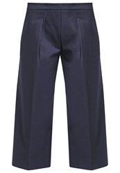 Banana Republic Gauchos Trousers Basic Navy Dark Blue