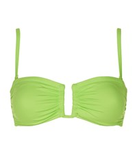 Lazul Ronda Bandeau Bikini Top Female Green