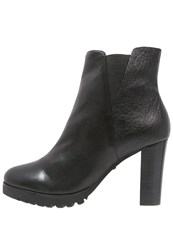 Belmondo High Heeled Ankle Boots Nero Black