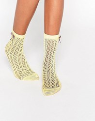 Jonathan Aston Angelic Sock Yellow