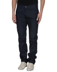 Salvatore Ferragamo Denim Pants Blue
