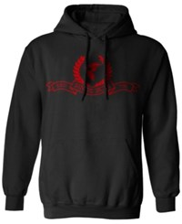 Famous Stars And Straps Men's Graphic Print Hoodie Black