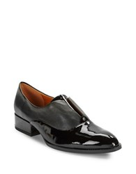 H Halston Karol Patent Leather Oxfords Black