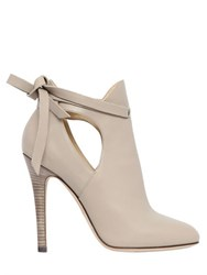 Jimmy Choo 110Mm Marina Leather Ankle Boots
