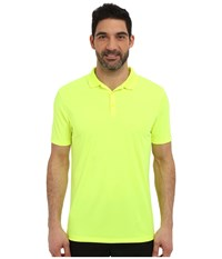 Nike Victory Solid Polo Volt White Men's Short Sleeve Pullover Yellow