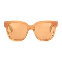 Oliver Peoples Brinley Square Sunglasses Terracotta