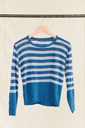 Urban Renewal Vintage Blue Red Striped Sweater Assorted