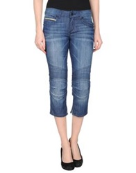 Rockstar Denim Capris Blue