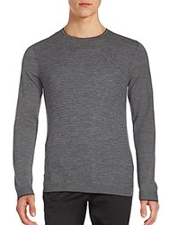 Kent And Curwen Long Sleeve Cashmere Sweater Navy