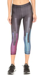 Zara Terez Audio Levels Performance Capri Leggings Multi