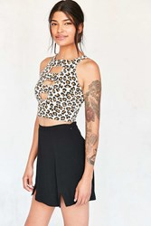 Truly Madly Deeply Clementine Cutout Cami Cream Multi