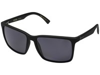 Von Zipper Lesmore Polarized Black Smoke Satin Vintage Grey Wildlife Sport Sunglasses