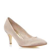 Untold Bonitie Sweetheart Court Shoe Taupe